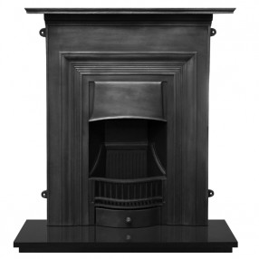 Carron Oxford Cast Iron Fireplace Suite Black