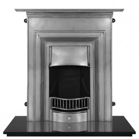 Carron Oxford Cast Iron Fireplace Suite Full Polished