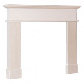 "Gallery Pisa 54"" Portuguese Limestone Surround"