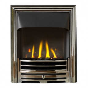Providence Chrome Gas Fire