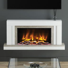 "Elgin & Hall Vardo 53"" Pryzm Electric Fireplace Suit"