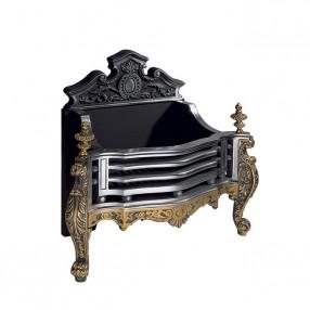 Gallery Queen Anne Antique Cast Iron Fire Basket