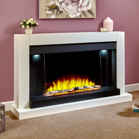 Katell Reno electric fireplace suite