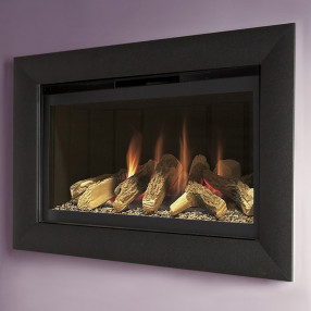 Flavel Rocco Gas Fire, Black Trim
