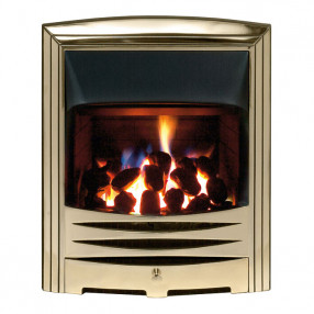 Gallery Solaris Gas Fire, Gold