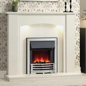 Be Modern Somerton Marble Fireplace