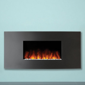 Gazco Studio 1 Wall Mounted Electric Fire Verve Front