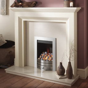 Crystal Super Radiant Contemporary Inset Gas Fire