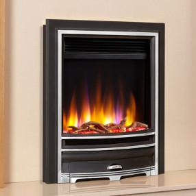 Celsi Ultiflame VR Arcadia Electric Fire Black/Silver
