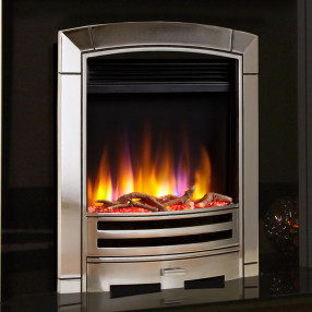 Celsi Ultiflame VR Decadence Electric Fire Silver