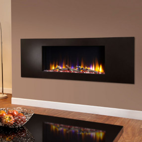 Celsi Ultiflame VR Metz Electric Fire Black