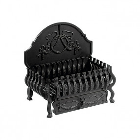 "Gallery Valencia 18"" Cast Iron Fire Basket"