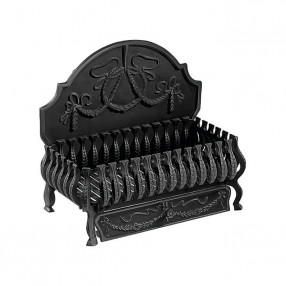 "Gallery Valencia 21"" Cast Iron Fire Basket"