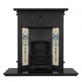 Carron Valentine Cast Iron Fireplace Suite