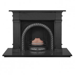Carron Somerset Cast Iron Fireplace with Westminster Cast Iron Arch