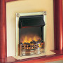 Dimplex Horton Electric Fire in Brass