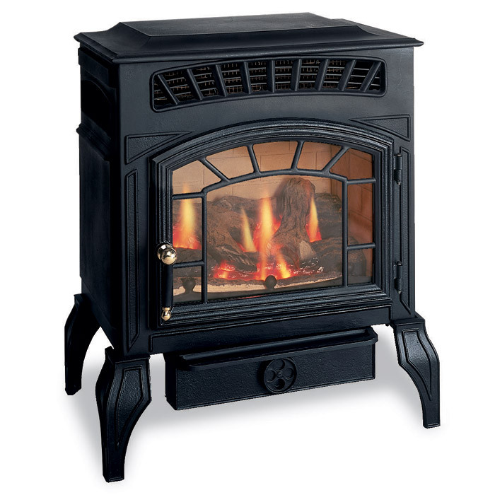 burley ambience flueless gas stove fireplaces are us. Black Bedroom Furniture Sets. Home Design Ideas