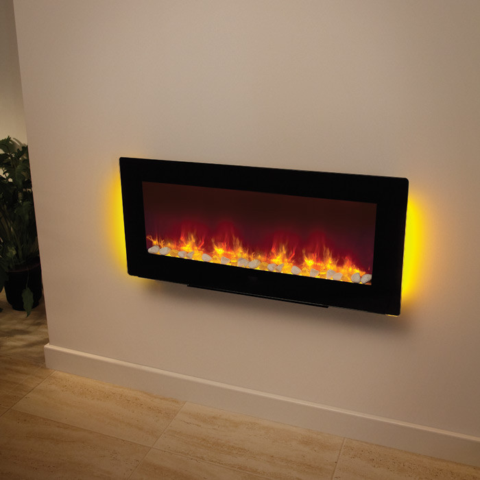Be Modern Amari Wall Mounted Free Standing Electric Fire