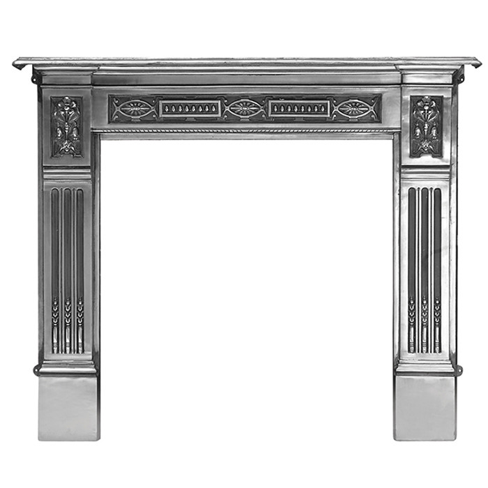 "Carron Albert 55"" Cast Iron Fireplace Surround ..."