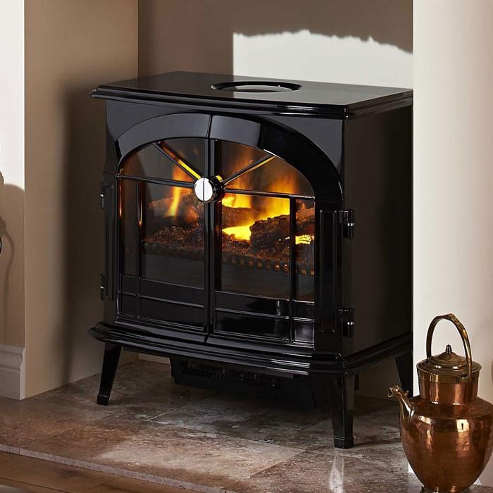 Dimplex Burgate Opti Myst Electric Stove Fireplaces Are Us