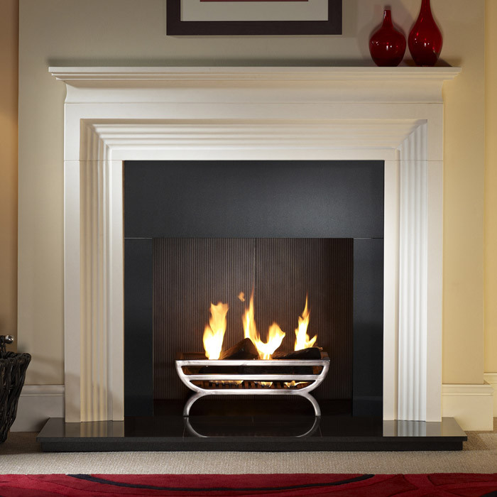 Gallery Cradle Cast Iron Fire Basket - Fireplaces Are Us