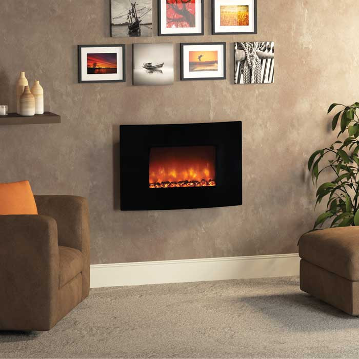 Buy Be Modern Orlando Curved Electric Fire Fireplaces Are Us