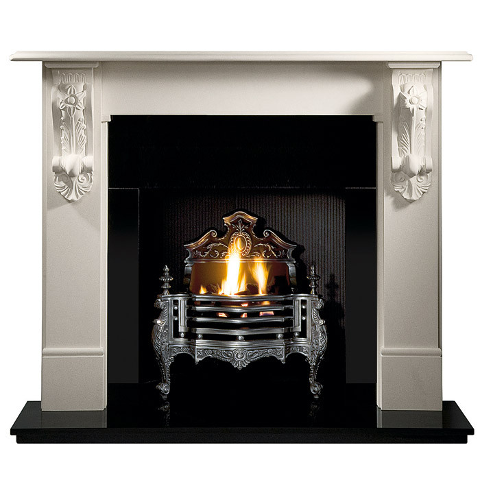 Gallery Queen Anne Cast Iron Fire Basket Fireplaces Are Us