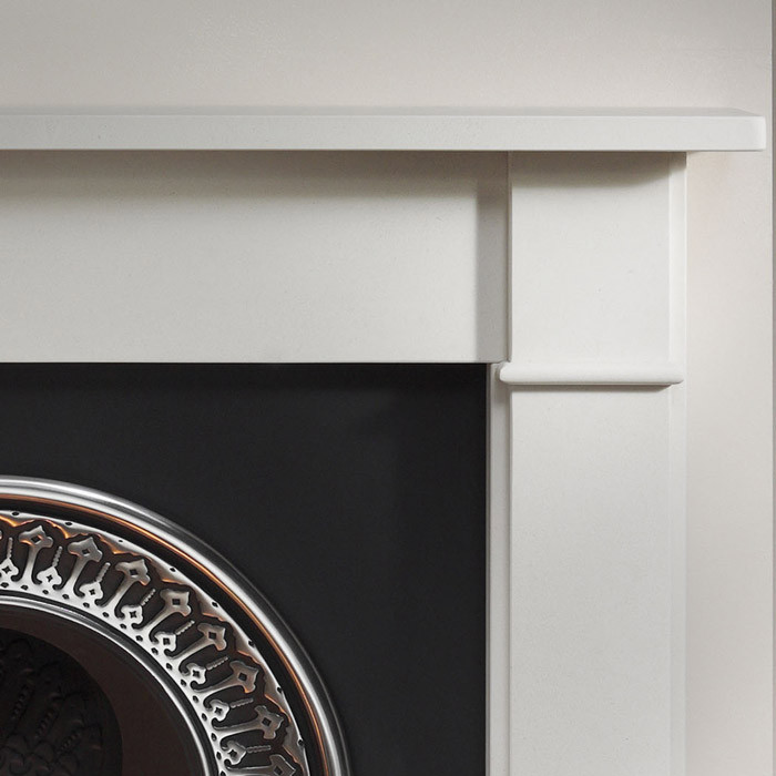 Gallery Brompton Limestone Fireplace With Regal Cast Iron