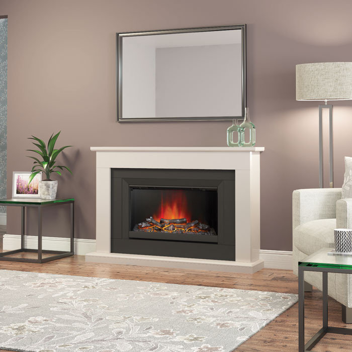 Elgin Hall Wellsford 52 Electric Fireplace Suite Fireplaces Are Us