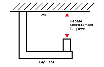 Diagram of fireplace rebate